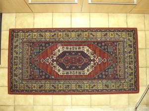 ornement, persan, tapis