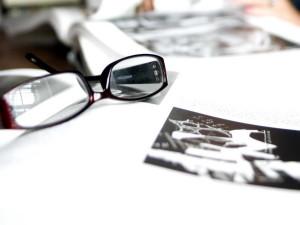 coppia, occhiali da vista