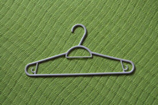plastic, hanger, clothes