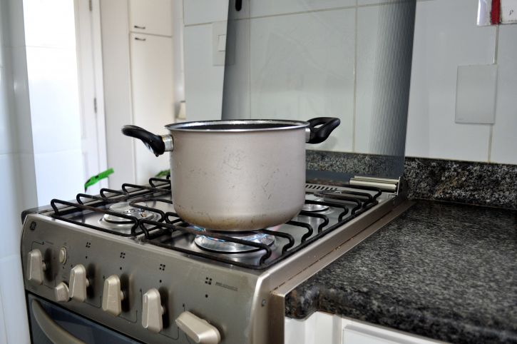 pot, cooking, kitchen, stove