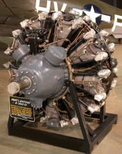pratt, whitney, 1820, twin, wasp, radial, engine