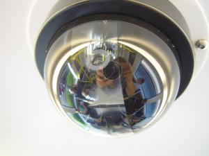 reflexiones, la seguridad, la cámara