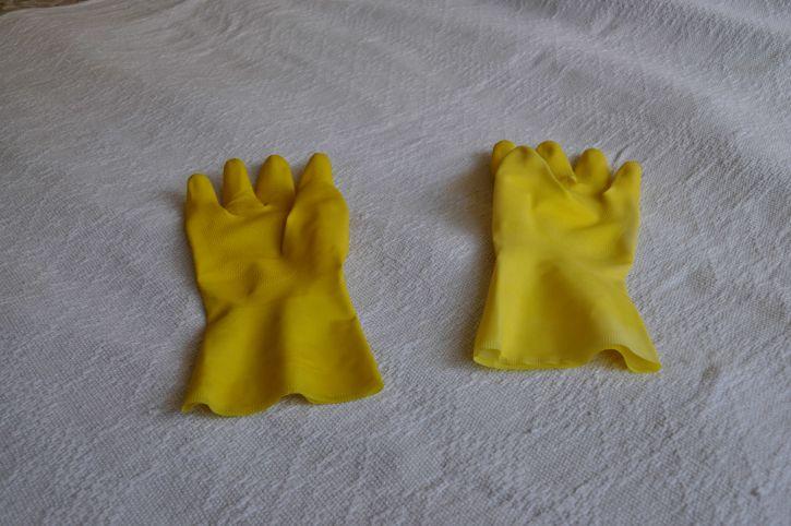 гумени ръкавици