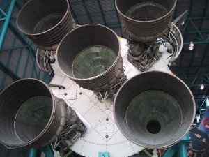 satern, rocket, nozzles