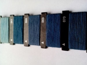 blue, thread, manual, machine, sewing