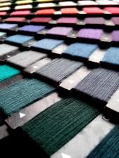 coloré, fils, couture