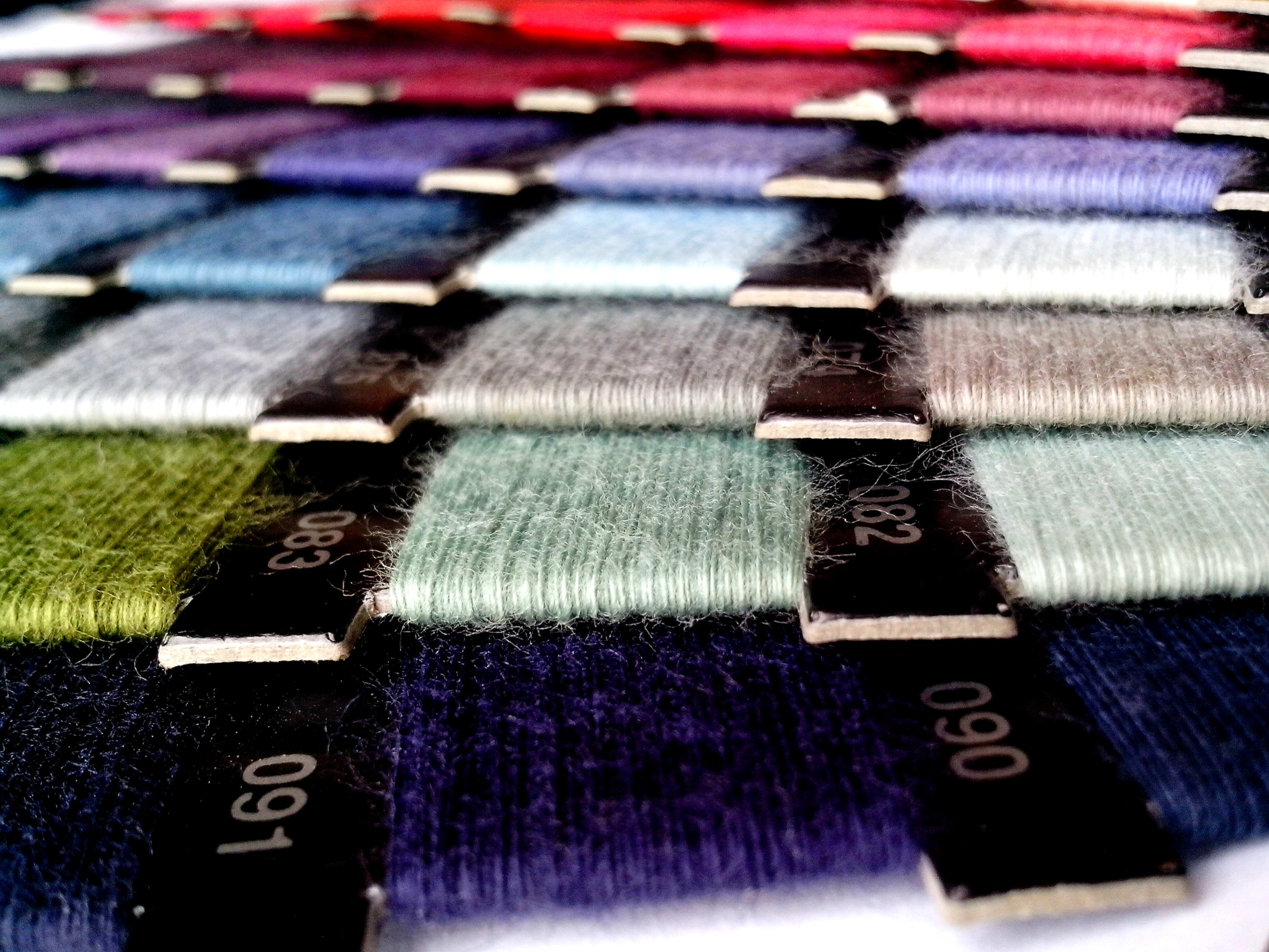 Free photograph; detailed, image, colored, sewing, thread
