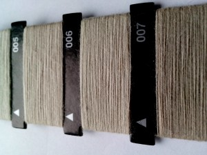 gray, sewing thread, paint, numbers