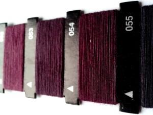 สีม่วง ด้าย จักรเย็บผ้า