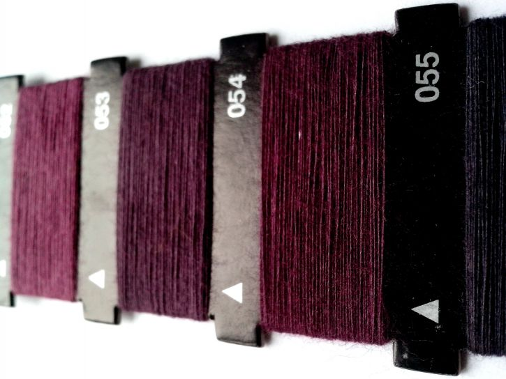 purple, thread, sewing, machine