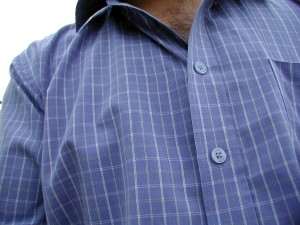 shirt, man, clothing, shirt, blue, textile