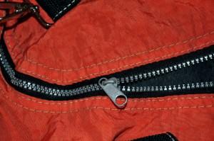musta, metalli, vetoketjut, punainen, kangas