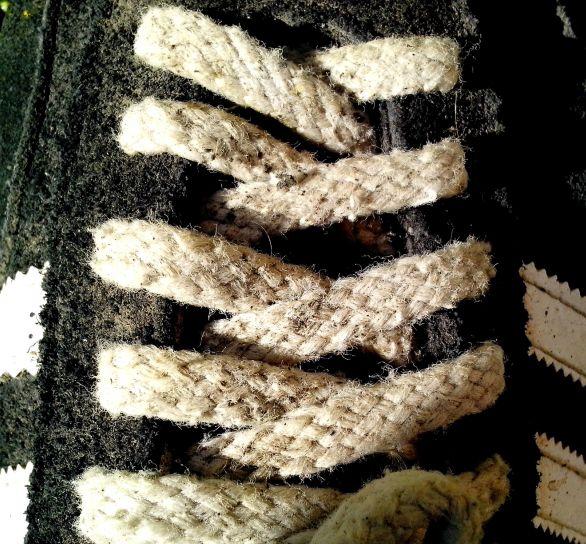 laces, shoes