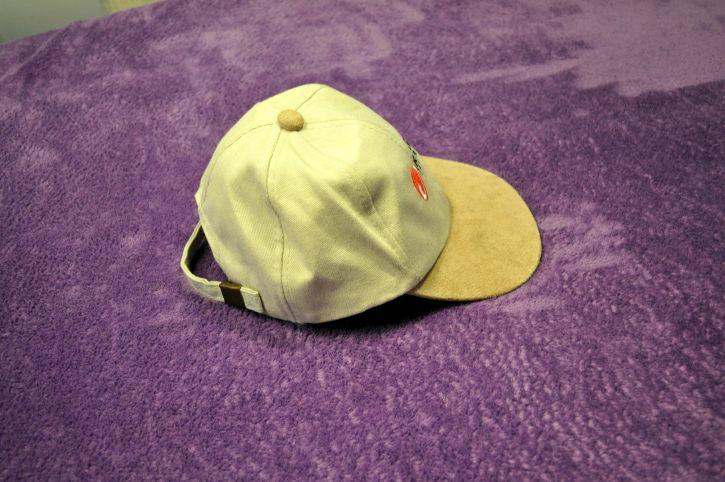 Sport, kapu, šešir, ljubičasta, platno