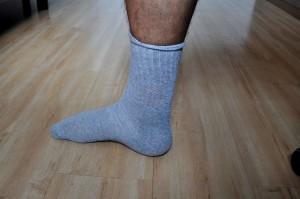袜子, 腿