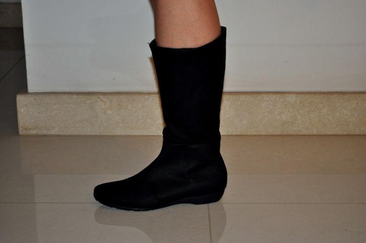 woman, legs, shoes, boots, heels