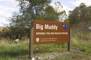 big, muddy, wilderness, refuge, sign