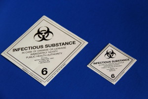 dangerous, goods, shipping, label, sign
