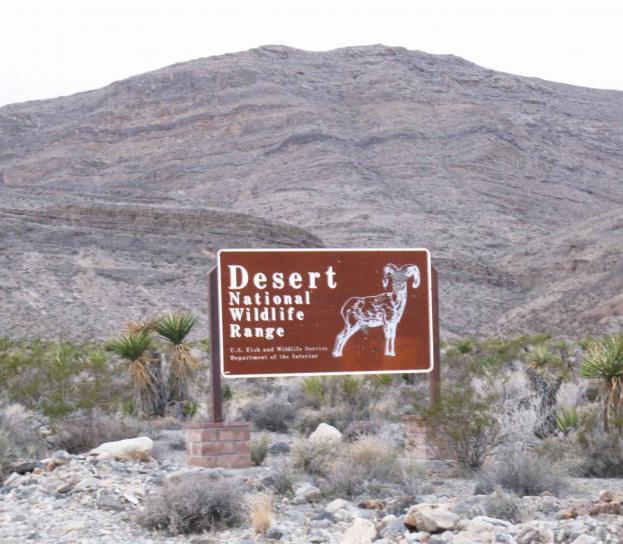 desert, wilderness, refuge, sign