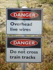 cross, train, tracks