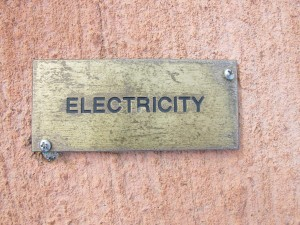 electricity, sign