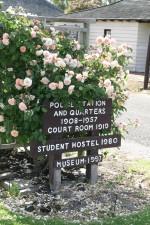 entryway, semn, trandafiri