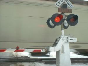 railroad, crossing, arm, byron, Illinois