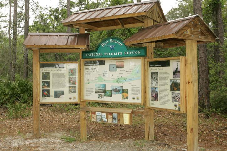 refuge, information, kiosk