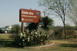 santa, wilderness, refuge, sign, planted, cacti