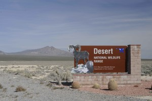 sign, desert, national, reserve