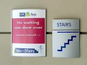 escaliers, signes