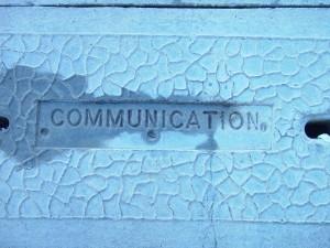 Wort, Einbau, concete, Deckel, Kommunikation