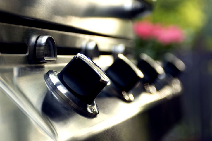 stainless, steel, outdoor, grills, temperature, control, knobs