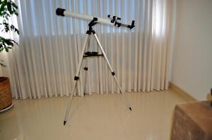 teleskop, gözlemleyerek, göksel, organları, pencere