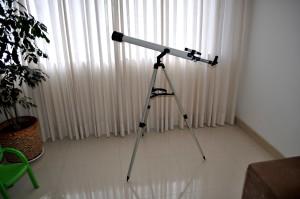 teleskop, Oda