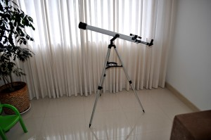 télescope, salle
