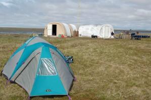 tentes, terrain