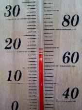 термометър, температура