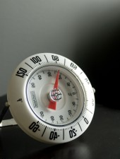 termometar, čitanje, temperatura