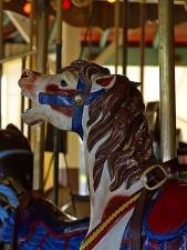 deformacije, konjima, vožnje, zabavni, parkovi