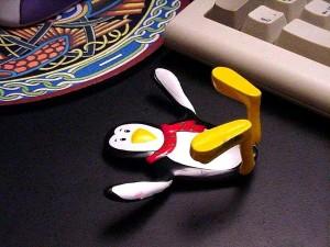 gumby, pingouin, jouet