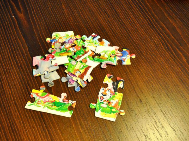 jigsaw, puzzle, kids