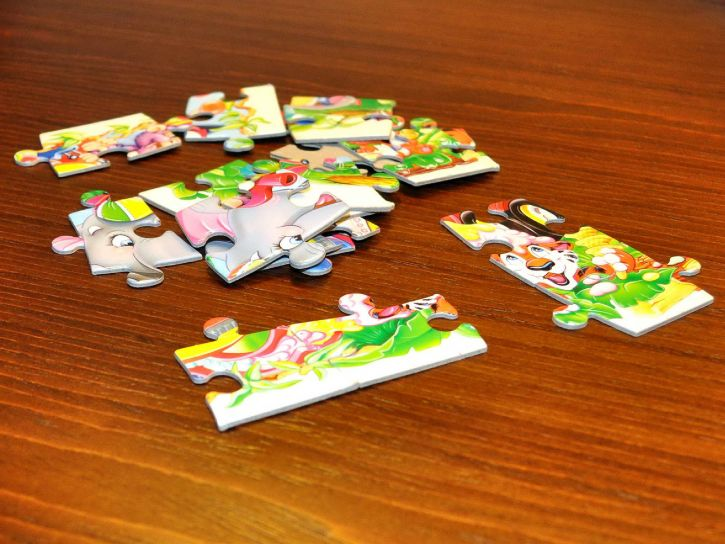 jigsaw, puzzle, game