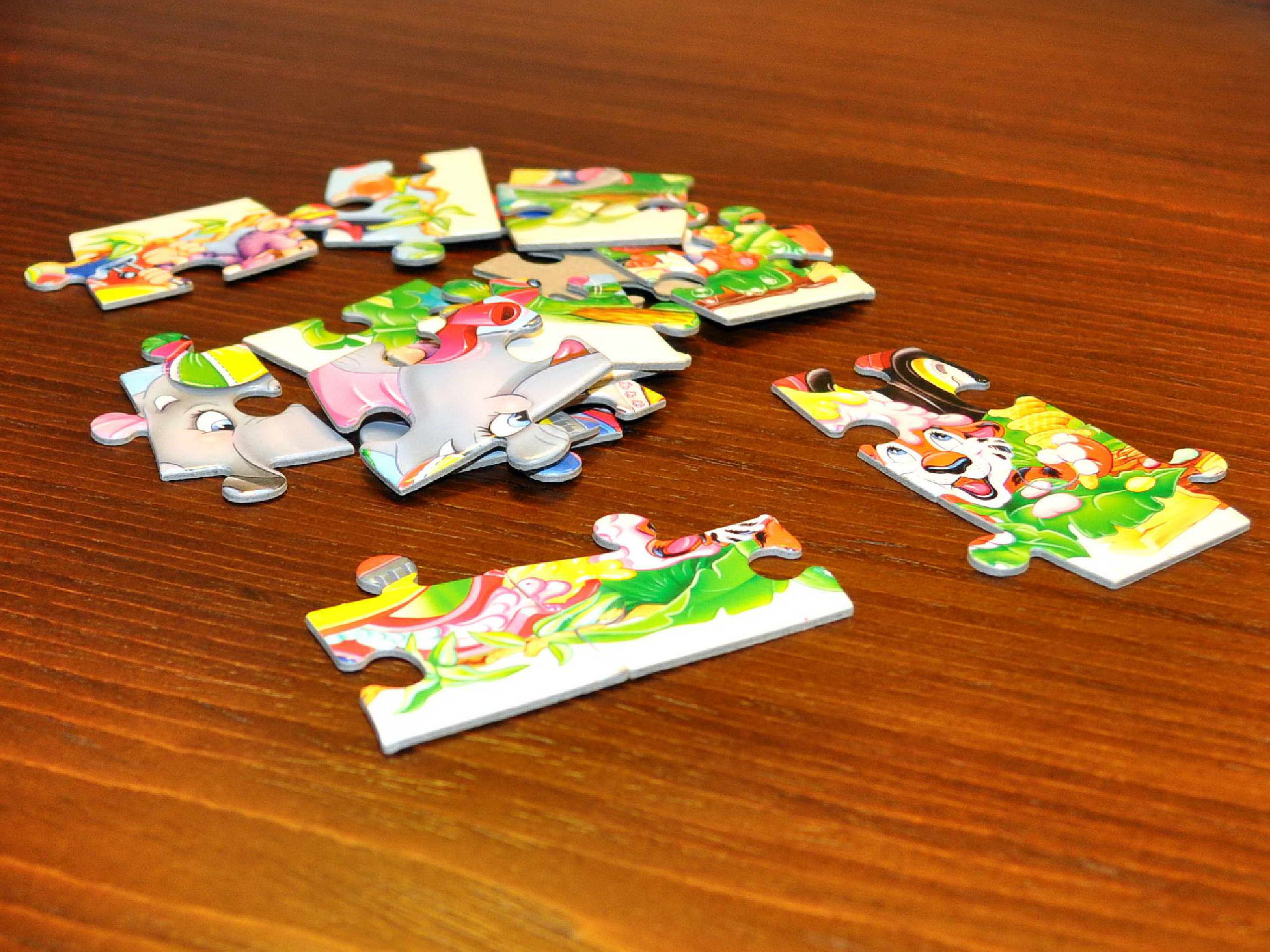 Free photograph; jigsaw, puzzle, game