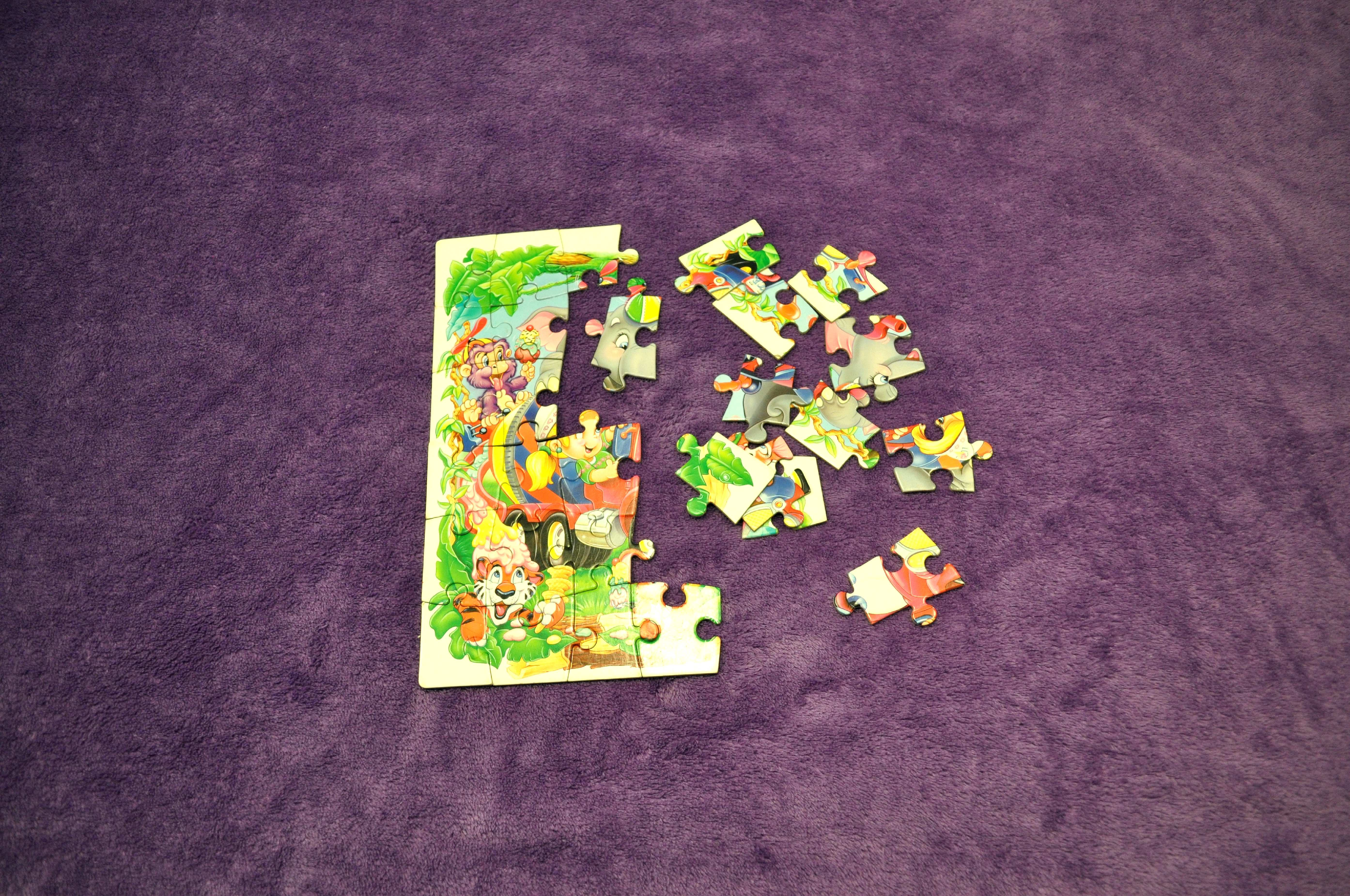 Free photograph; jigsaw, puzzles