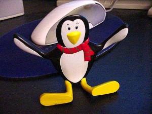 pingouin, poupée