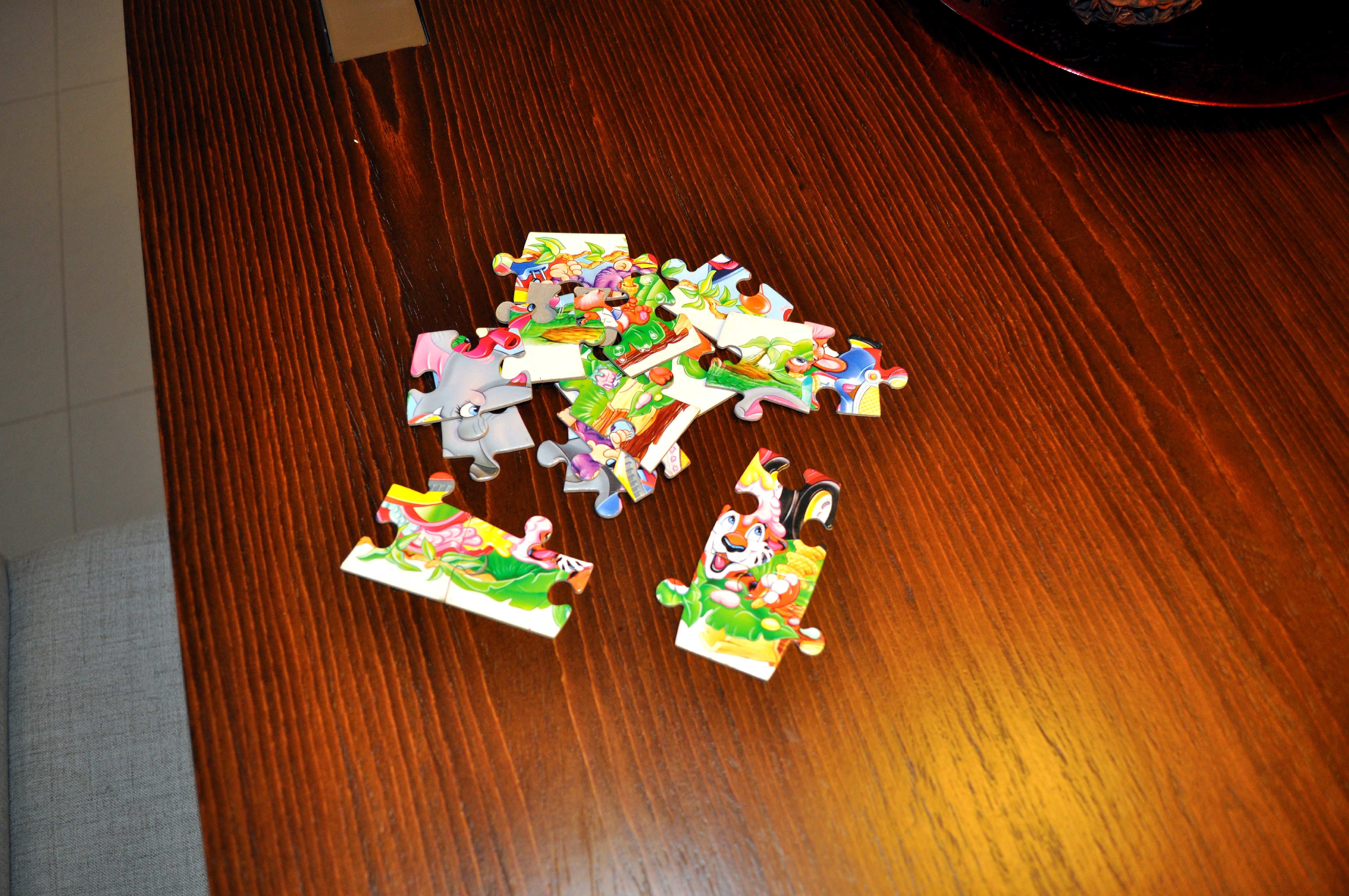 Free photograph; puzzles, children