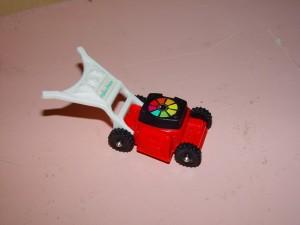 juguete, cortadora de césped