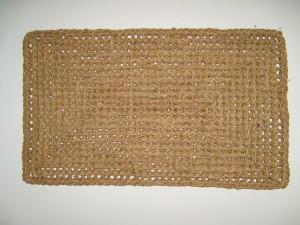 osier, tapis, objet