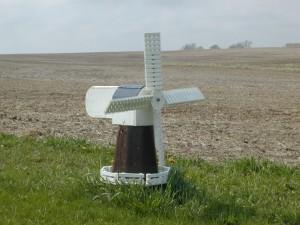 vjetrenjača, polje
